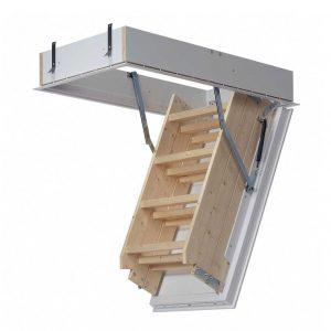 MidMade Bodentreppe LUX 570 x 1116 mm inklusiv des speziellen Schutzgeländers -6146