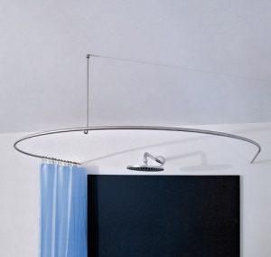 DR 100 HD 80 - Duschvorhang-stange-0