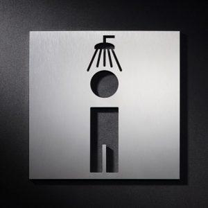 P D M S - Piktogramm Schild Dusche Männer-0