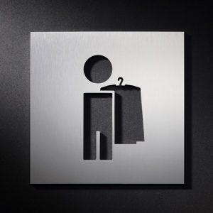 P G M S - Piktogramm Schild Garderobe-0