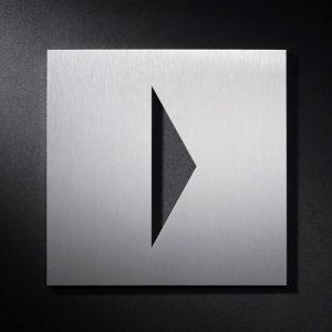 P PF S - Piktogramm Schild Richtungspfeil-0