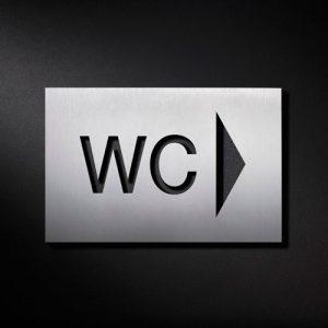 P WC PFR S - Piktogramm Schild WC-0